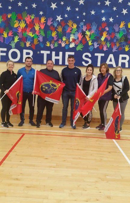 Munster's Tommy O'Donnell Visits for Active Week 2018!