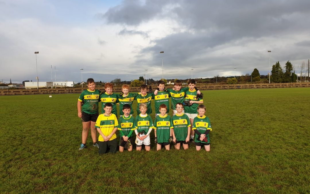 Clerihan N.S. U13 Boys reach Roinn C County Final