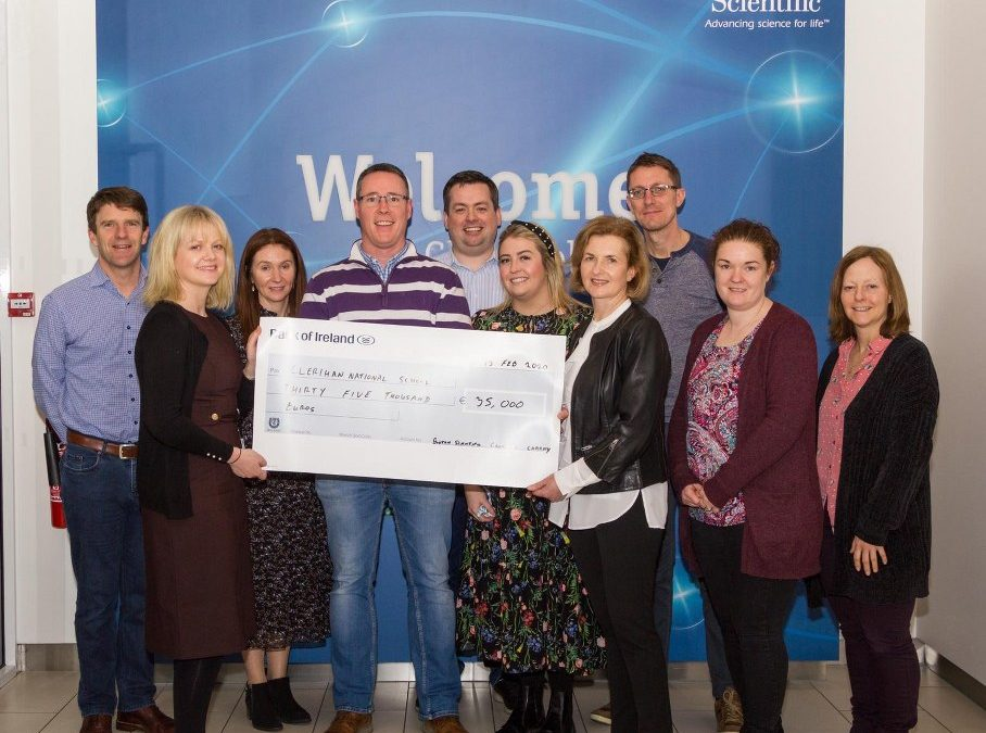 Boston Scientific Raise €35,000 for Sensory Garden