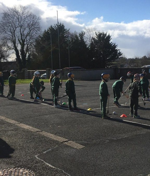 1st and 2nd Class Hurling Training