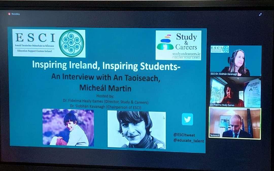 Inspiring Ireland Webinars